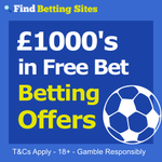 Football betting offers at Findbettingsites.co.uk