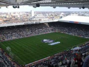 Game On at St James' Park!