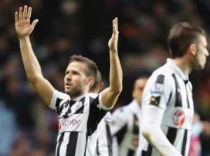 Cabaye's strike earns three points for United