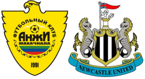 Anzhi v Newcastle