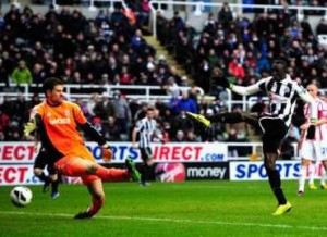 Cisse grabs the winner
