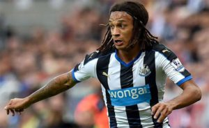 Kevin Mbabu In Action Newcastle United